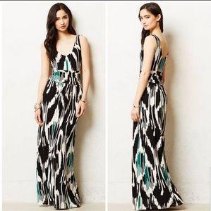 Anthro Vanessa Virginia Talassemtane Maxi Dress